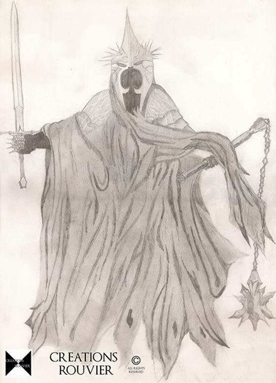 Les dessins du seigneur des anneaux les vilains personnages - Dessin seigneur des anneaux ...