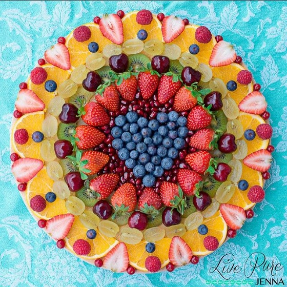 salade de fruits mandala